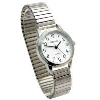 Ravel Ladies Super-Clear Quartz Watch with Expanding Bracelet sil #44 R0232.21.2